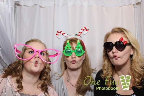 Duck lips in the photobooth